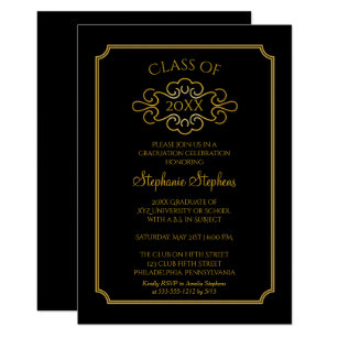 College Graduation Party Invitations Announcements Zazzle