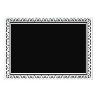 Elegant Black Invitation Template