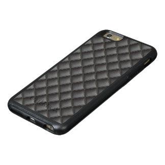 Elegant Black Leather design OtterBox iPhone 6/6s Plus Case
