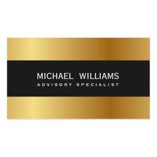 ELEGANT BLACK PROFESSIONAL GOLDEN GOLD METAL