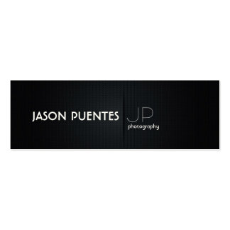 Elegant Black Professional Photography Business Card Templates