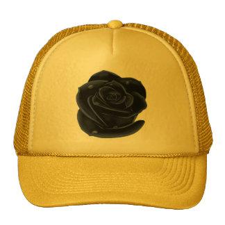 Elegant Black Roses Trucker Hat