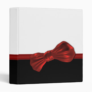 Elegant black tie binders - customize