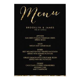 black and gold wedding invitations  announcements  zazzle, Wedding invitations
