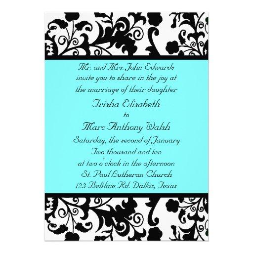 Black And White Wedding Invitation Ideas Black And White Wedding