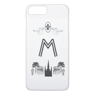 Elegant Black White New Orleans Scene iPhone 8 Plus/7 Plus Case