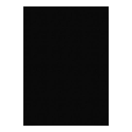 Elegant Black & White Retirement Party Invitations (back side)
