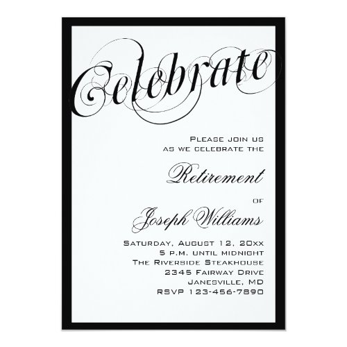 Popular 25 Retirement Party Invitations – Classic Party Invitations
