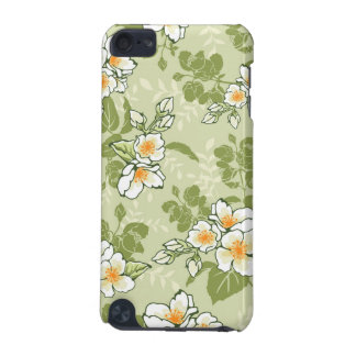 Elegant Blooming Flowers with Custom Name | iPod Touch 5G Covers