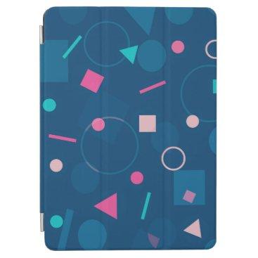 Elegant Blue Abstract Pattern   iPad Air Case
