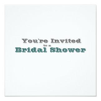 Elegant Blue and White Flowers Wedding Set Card