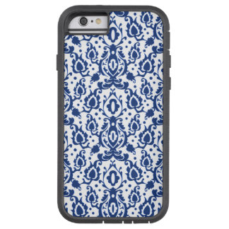 Elegant Blue and White Moroccan Style Damask Tough Xtreme iPhone 6 Case