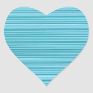 Elegant BLUE : Artist Created Pallet Add GREETING Heart Sticker