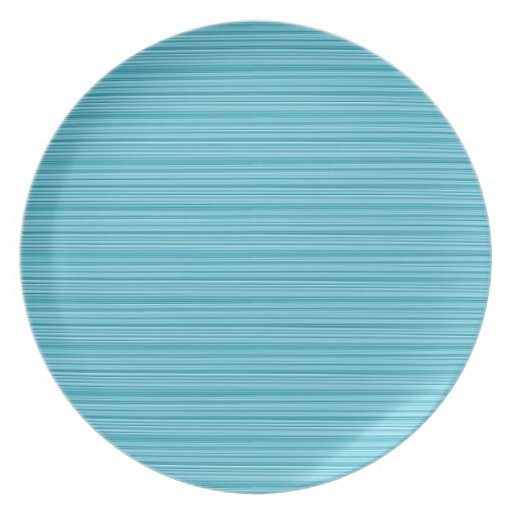 Elegant BLUE : Artist Created Pallet Add GREETING Dinner Plate