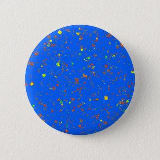 Elegant BLUE Artistic Texture TEMPLATE Resellers Pinback Button