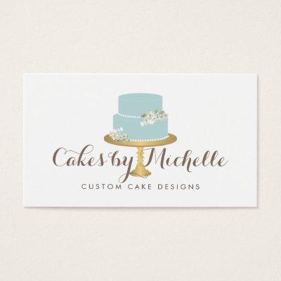 Wedding cake artist business cards zazzle reheart Images