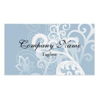 Elegant Blue Classic Design Business Cards