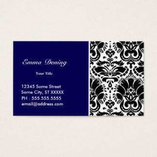 Elegant Blue Custom Business Card