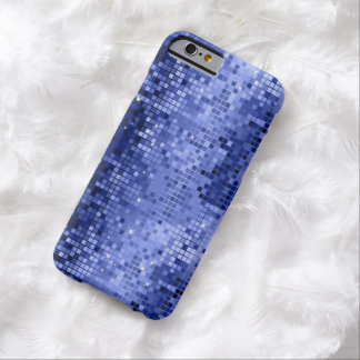Elegant Blue DiscoBall Glitter & Sparkles Barely There iPhone 6 Case