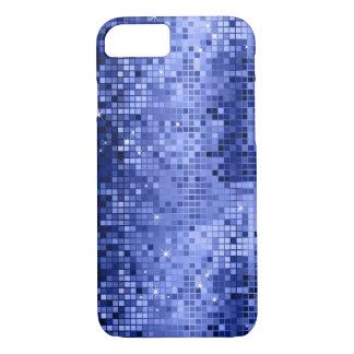 Elegant Blue DiscoBall Glitter & Sparkles iPhone 8/7 Case