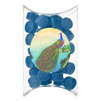 Elegant Blue Indian Peacock Gum Party Favors