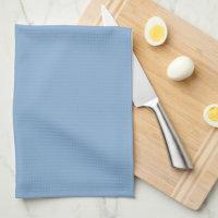 Elegant Blue Monogram Towel