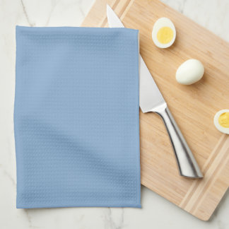 Elegant Blue Monogram Towels
