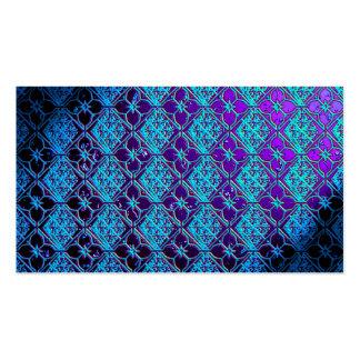 Elegant Blue & Purple Business Card