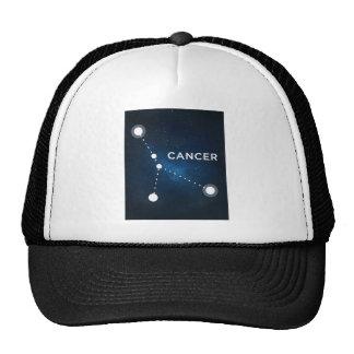 ELEGANT BLUE STARRY WATERCOLOR UNIVERSE - CANCER TRUCKER HAT