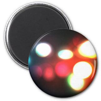 Elegant Bokeh Blur 2 Inch Round Magnet