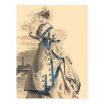 Elegant Bon Voyage Postcard