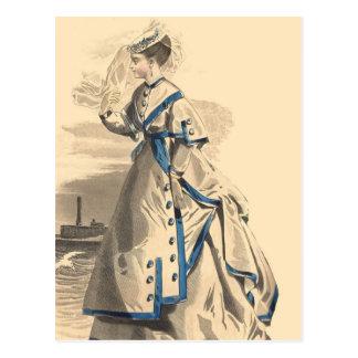 Elegant Bon Voyage Post Cards