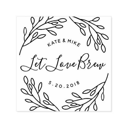 Heart Stamp Invitation Cards