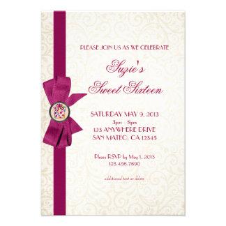 Elegant Bow Custom Invitations