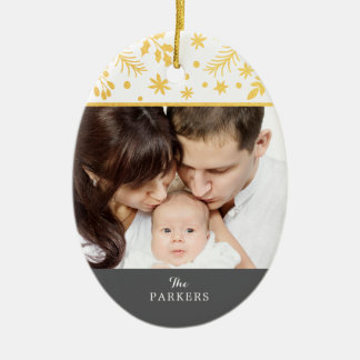 Elegant Branches Décor Holiday Ornament