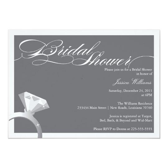 Elegant Bridal Shower Card