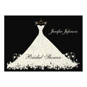 Elegant Bridal Shower Invitation Personalized Announcement