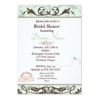 Elegant Bridal Shower Invite-Customized