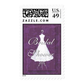 Elegant Bridal Shower Stamp