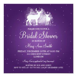 elegant_bridal_shower_winter_deer_sparkle_purple_invitation ra52ad18f6ee4447aba8d226d1aeb5382_zk9yv_325?rlvnet=1 10 winter wonderland bridal shower invitations winter theme,Winter Wonderland Bridal Shower Invitations