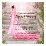 Elegant Bride Bridal Shower Personalized Announcements