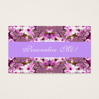 Elegant Bride Cherry Blossoms Cute Save the Date Business Card