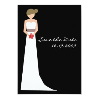 Elegant Bride in Gown Card