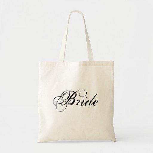 Elegant Bride Tote Bag