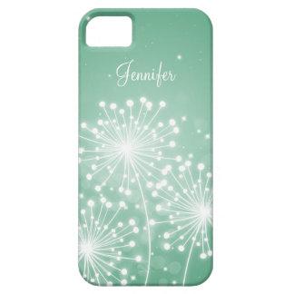 Elegant Bridesmaid Favor Summer Sparkle Mint Green iPhone SE/5/5s Case