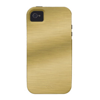 Elegant Brushed Gold Case For The iPhone 4