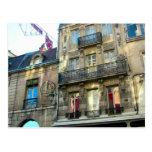 Elegant buildings in Dijon, Burgundy, France 1 Postcard