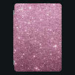 """Elegant burgundy pink abstract girly glitter iPad pro cover<br><div class=""""desc"""">An elegant abstract chic burgundy and pink girly faux glitter pattern This modern trendy burgundy and pink glitter design is perfect for any classy and sophisticated glam girl or anyone.Design with your own message and information. All designs are printed.</div>"""