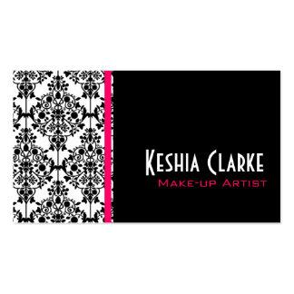 Elegant Busines Cards Damask Business Card Template