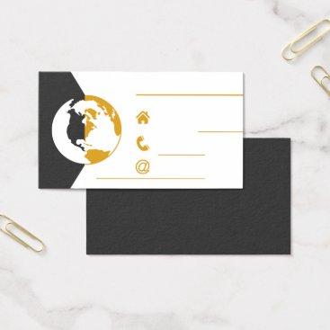 Lawyer Themed Elegant Business Card